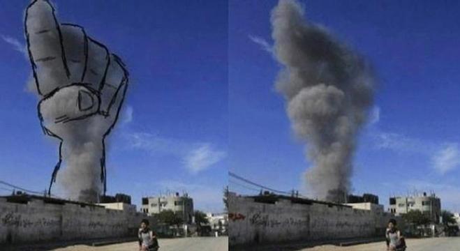 مبعدون فلسطينيون يصنعون من القبح جمالا