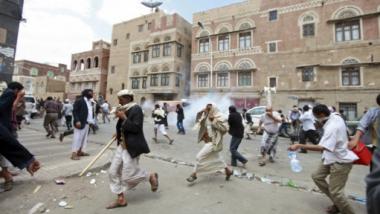 اشتباكات عنيفة بين حوثيين والجيش اليمني في صنعاء