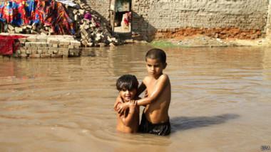 تفشي الأوبئة بسبب فيضانات كشمير