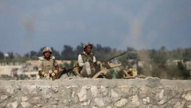 مقتل 11 عسكرياً مصرياً بهجوم في سيناء