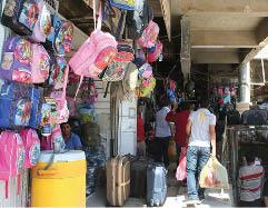 أسواق بغداد تشهد أرتفاعاً ملحوظاً في أسعار المستلزمات المدرسية