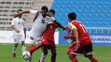 «الأولمبي» يواجه اليابان في ثاني مبارياته بالدورة الآسيوية