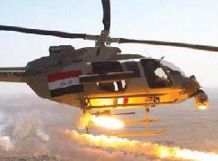 بابل: ايقاف القصف الجوي اضعف المقاتلين على الأرض