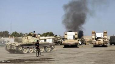 """الطيران الحربي يدك معاقل """"فجر ليبيا"""" في جنوب طرابلس"""