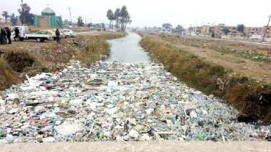 ديالى تحذّر من تفاقم التلوث في نهر يؤمن المياه لـ 250 الف نسمة