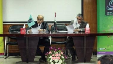 « زين العراق « تؤكد ريادتها في قطاع الاتصالات كأول شركة توقع اتفاقية استعمال الالياف الضوئية