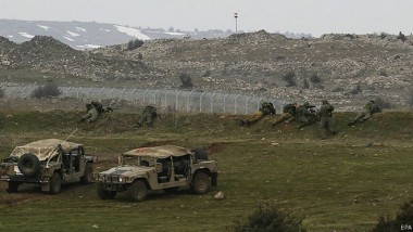 انفجار صاروخين من سوريا في الجولان