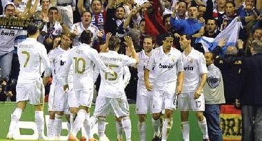 ريال مدريد الاكثر تهديفاً في الدوريات الأوروبية الكبرى