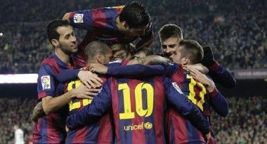 برشلونة ينهي عقدته امام اتلتيكو مدريد في الليجا الاسبانية