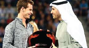 موراي يتوج بكأس أبو ظبي لكرة المضرب