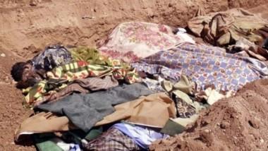 العثور على 4 مقابر جماعية لضحايا داعش في ديالى