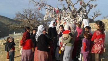 الإيزيديون الفارون من بطش داعش يلغون الاحتفالات باعيادهم