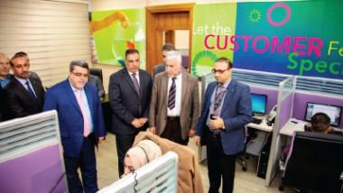«الاعلام والاتصالات» تفتتح المبنى الجديد لخدمة الزبائن في زين العراق