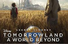 «ديزني» تطرح بوستر Tomorrowland»» لجورج كلوني
