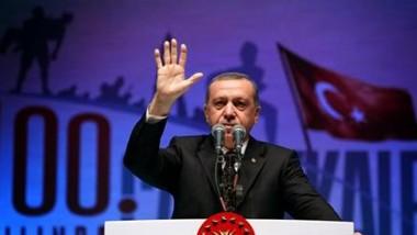أردوغان يهاجم الغرب لاغلاق ابوابه  بوجه السوريين الهاربين