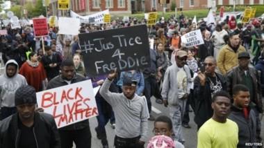 عودة الهدوء في الولايات المتحدة بعد التظاهرات في بالتيمور