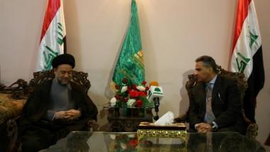 رئيس الوقف الشيعي يبحث مع السفير المصري تطوير العلاقات الثنائية