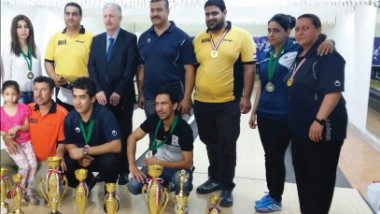 لاعبو أمانة بغداد أولاً في نهائي أندية البولنغ