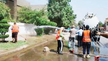 أمينة بغداد توجه بالارتقاء بالخدمات على مدار الساعة