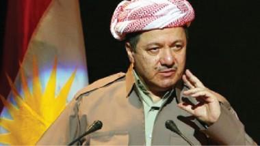 الرئيس بارزاني: الحرية ووحدة الكرد اقوى سلاح لمواجهة مشكلاتنا