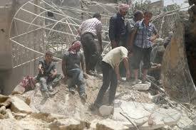 غارات على جسر الشغور وقتل مئات الجنود في تدمر