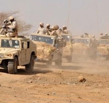 اشتباكات بين القوات السعودية والحوثيين على الحدود