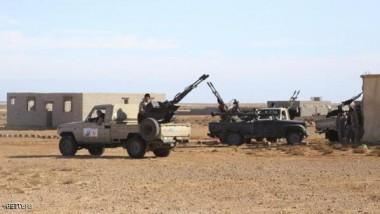 الجيش الليبي يتقدم نحو الزاوية
