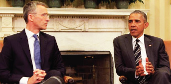 """أوباما يدعو الناتو لمواجهة """"داعش"""" ودعم العراق"""