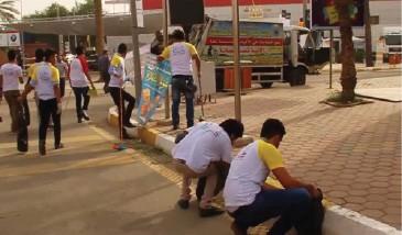 حملات شبابيّة لتفعيل الخدمة المجتمعيّة في العراق
