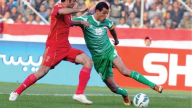 العراق يواجه سوريا في مباراة رفع الحظر الدولي بالبصرة