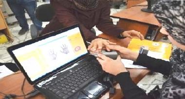 الهجرة تعلن إصدار 258 ألف بطاقة ذكية للنازحين