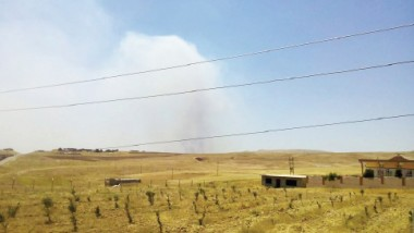 الحرائق تلتهم ما بقي من بساتين ومزارع سهل نينوى
