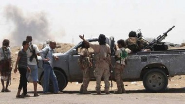 قوات مناهضة للحوثيين تسيطر  على معبر حدودي مع السعودية