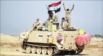 القوات المشتركة تحقّق تقدّماً كبيراً في شمال صلاح الدين وتحكم الطوق على بيجي