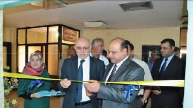 رئيس مجلس البصرة يفتتح مشاريع صحية في المستشفى العام