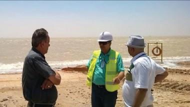 «علوم البحار» يبحث الدعم العلمي للشركات المنفذة لكاسر الأمواج