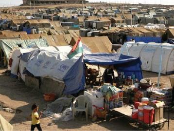 حملة إماراتية لإغاثة اللاجئين والنازحين في إقليم كردستان