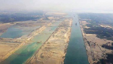 قناة السويس الجديدة تشغل تجريباً قبل افتتاحها الرسمي في آب المقبل