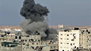 28 قتيلا في غارة  للجيش السوري على بلدة الباب