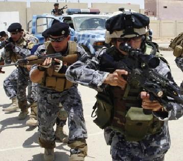 """تدمير الخطوط الأمامية لـ """"داعش"""" قرب الجامع الكبير ومنارة الحدباء في أيمن الموصل"""
