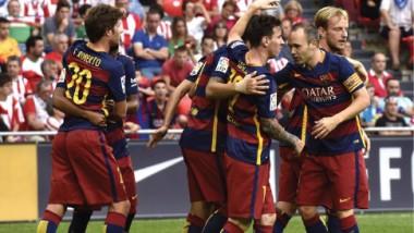 برشلونة يثأر من بيلباو.. ومارسيليا يسحق تروا