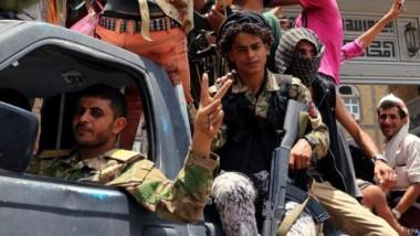 أنصار هادي يسيطرون على معظم  مدينة تعز وسط اليمن