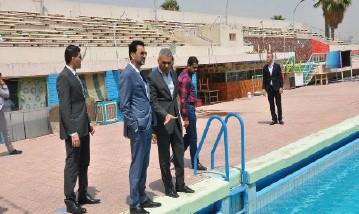 عبطان يدعو لفتح تحقيق ومحاسبة المقصرين في إهمال مسبح الشعب