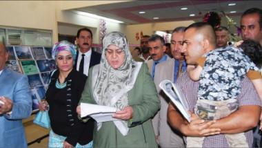 وزيرة الصحة تفتتح مستشفى الأطفال التعليمي في مدينة الطب
