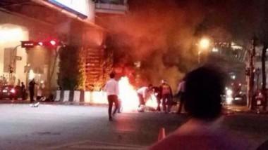 الشرطة التايلندية تبحث عن شركاء للمشتبه به في تفجير بانكوك