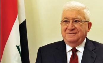 """معصوم يدعو لعدم تحويل سفارات العراق إلى """"مقرات للأحزاب"""""""