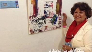 فنّانة الجرافيك لميعة الجواري في ملتقى إسبانيا الدولي