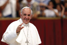 56 جرساً يدق في استقبال البابا في واشنطن