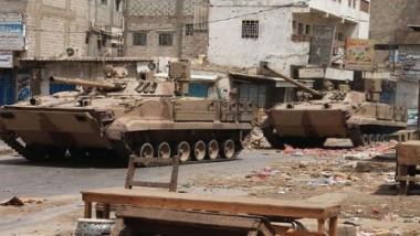 تعزيزات عسكرية عربية برّية استعداداً للهجوم على صنعاء