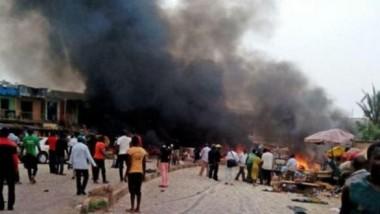 مقتل 36 مواطناً بهجمات انتحارية  شمال شرقي نيجيريا